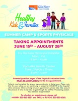 Summer Camp and Sports Physicals