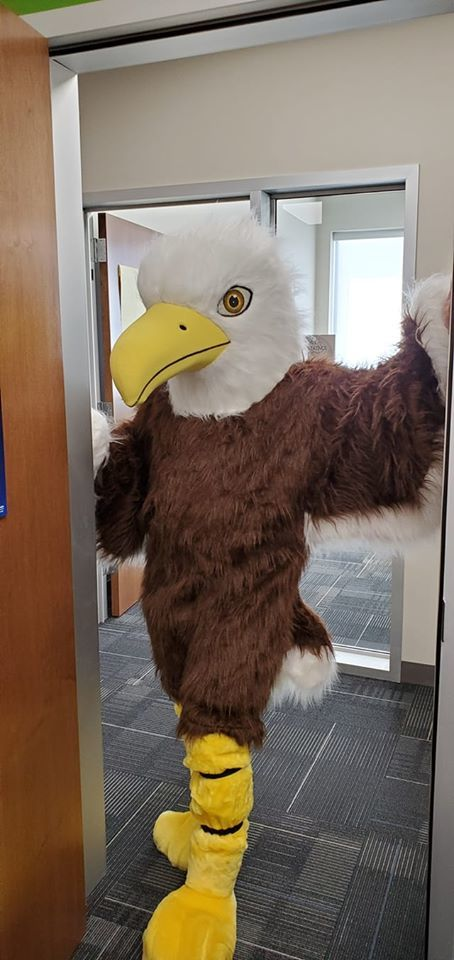 Eagle in the front office